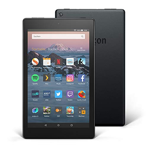 Fire HD 8-Tablet, 16 GB, Schwarz, mit Spezialangeboten - Windows 7 Kindle-app Für