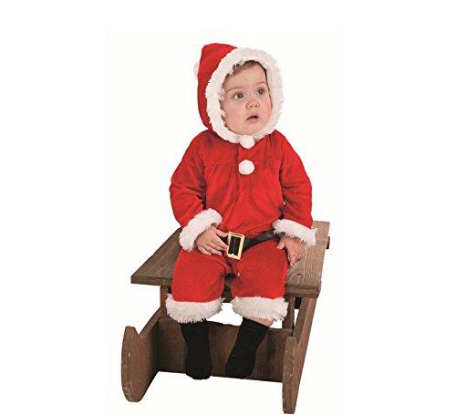 LLOPIS  - Disfraz Bebe Papa Noel Pelele