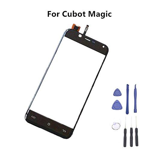 Prevoa 丨 Reemplazo Pantalla Táctil para Cubot Magic Smartphone - Negro < NO LCD Display Screen >
