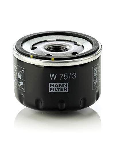 Original MANN-FILTER Ölfilter W 75/3 - Für PKW und Nutzfahrzeuge