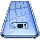 Spigen Coque Samsung S8 [Liquid Crystal] Souple, Mince, Légère, Ajustement Parfait, Protection aux 4 Coins, Coque Compatible avec Samsung Galaxy S8 - Crystal Clear
