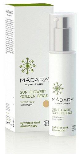 Mádara Crema Día Con Color Sunflower Oscura 50 ml