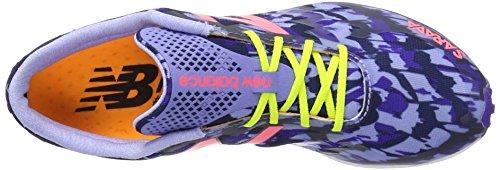 New Balance Women's 700v4 Track Spike Running Shoe, Purple/Pink, 10 B US Purple/Pink