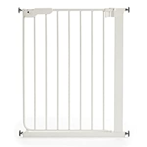 BabyDan 51994-2400-27-88 Slim Fit Stair Gate White   12