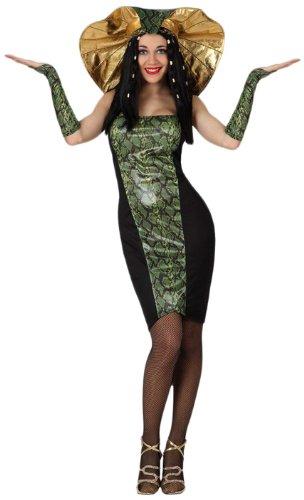 - Verkleidung Schlangenfrau, Erwachsene (Medusa-kostüm Für Erwachsene)