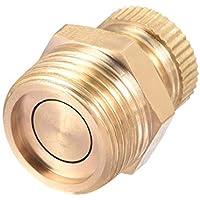 YUNB 1 Piezas compresor de Aire de Tono de latón 3/8 PT Válvula de Drenaje de Agua de Rosca Macho