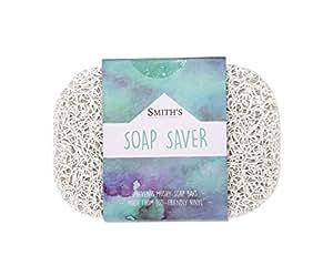 Smith's Merchandise Economiseur de savon/Support pour savon de Smith | Écologique (couleur: blanc)