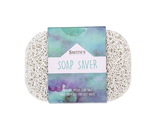Smith's Soap Saver/Soap Lift | Eco-Friendly (Colour: White)