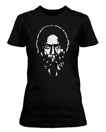 Miles Davis T-shirt, Womens, Small, Black