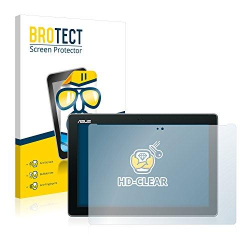 BROTECT Schutzfolie kompatibel mit Asus ZenPad 10 Z300C / Z300CL / Z300M [2er Pack] - klarer Bildschirmschutz