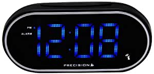 Precision Mains Powered LED Bedside Alarm Clock