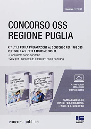 Kit per la preparazione al Concorso per 1789 OSS presso le ASL della Regione Puglia