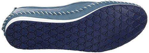 Andrea Conti 0021518, Mocassins Femme Blau (Bleu)