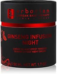 ERBORIAN Ginseng Infusion Crème de Nuit Effet Tenseur, 50 ml