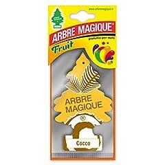 Idea Regalo - Sunlike ☀️ Arbre Magique Deodorante per Auto Cocco