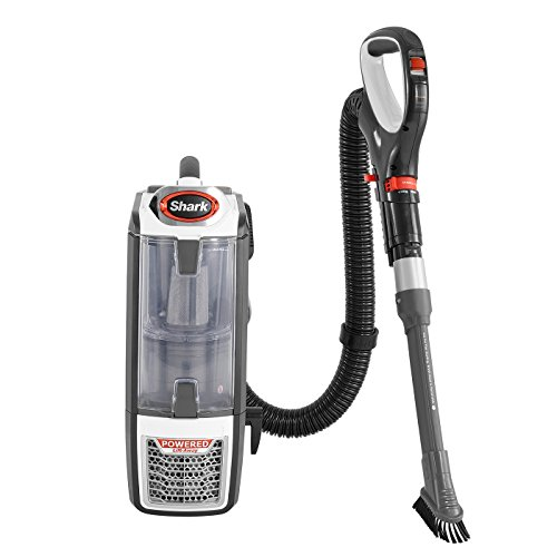 Shark NV801UK DuoClean Powered Lift-Away Vacuum Cleaner, White and Charcoal Grey