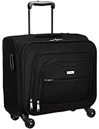 Amazon Brand - Solimo Rolling Laptop Case and Overnighter (4 Wheels)