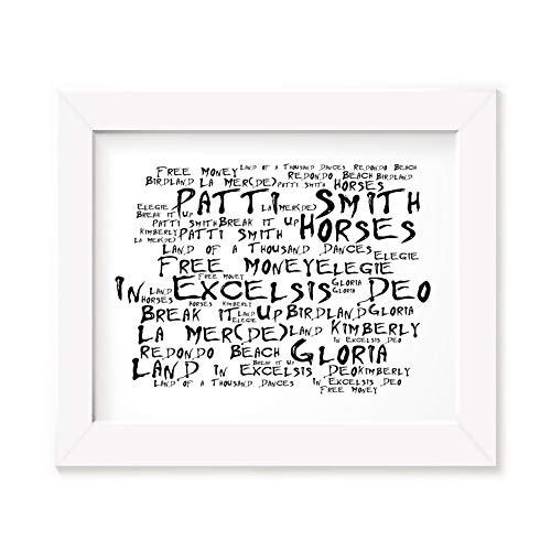 Patti Smith Art Print - Horses - Unframed Lyrics Poster