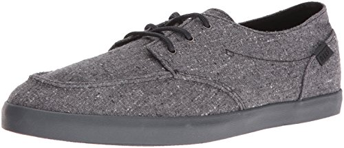 Reef Men's Deck Hand 2 TX Fashion Sneaker, Black/Charcoal, 8 M US (Mens-deck-cruiser)