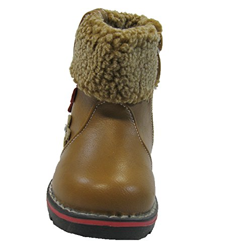 Kinder Winter Stiefel, Warmfutter Gr.20 - 25 Khaki