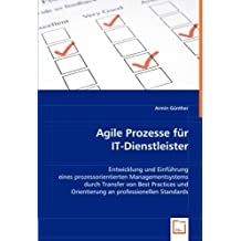 Agile Prozesse für IT-Dienstleister: Entwicklung und Einführung eines prozessorientierten Managementsystems durch Transfer von Best Practices und Orientierung an professionellen Standards