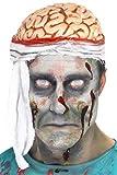 SMIFFYS Smiffy's Cappello Fascia Cervello per Adulti, Color Carne, 21392