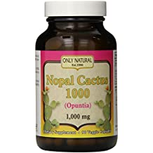 Only Natural Nopal Cactus, 90 Count by Only Natural