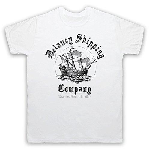 Taboo Delaney Shipping Company Herren T-Shirt Weis
