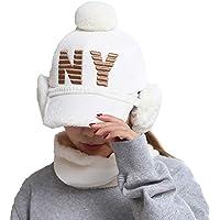 China Show Creativas de Invierno Sombrero con de oído de Cobertura de Warmer emporgeragter Tapas de Tipo de y Forma de béisbol Sombrero Blanco