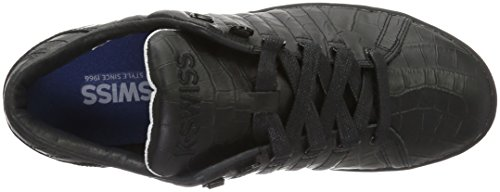 K-Swiss Lozan Iii Tt Croco, Sneakers Basses Homme Noir (Black/White 002)