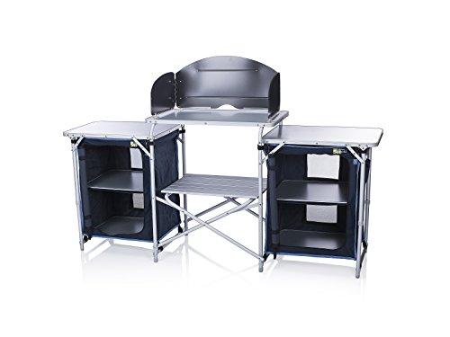 41kqR1ELGPL - Campart Travel KI-0732 Camping Kitchen Malaga, 172 x 48 x 79.5/110.5cm