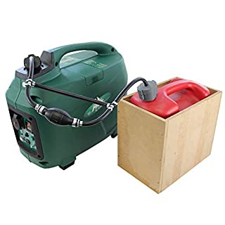 Zusatztank 5 Liter Volumen für Stromerzeuger/Generatoren wie Kipor, FME, Atima etc. exklusiv bei der Kipor. Org GmbH, Caravaning, Camping, Wohnmobil, Boot, Baustelle, Event, Festival
