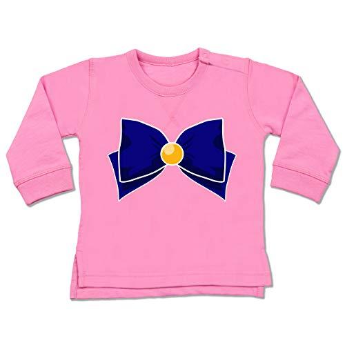 Shirtracer Karneval und Fasching Baby - Superheld Manga Venus Kostüm - 6-12 Monate - Pink - BZ31 - Baby ()