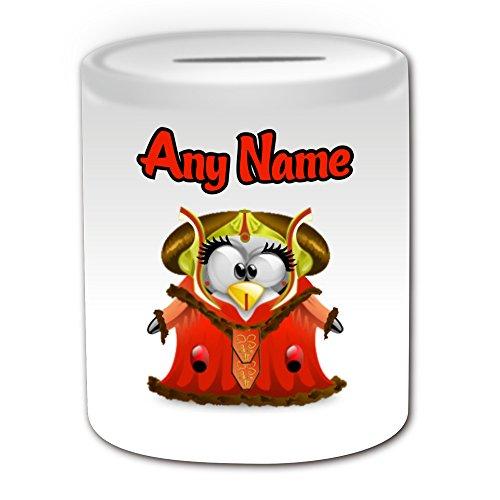 Personalisiertes Geschenk–Königin Padmé Amidala Spardose (Pinguin Film Charakter -