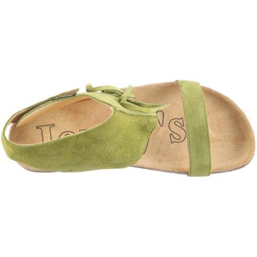Jonny's Clara 0968, Sandales mode femme Vert-TR-C1-31