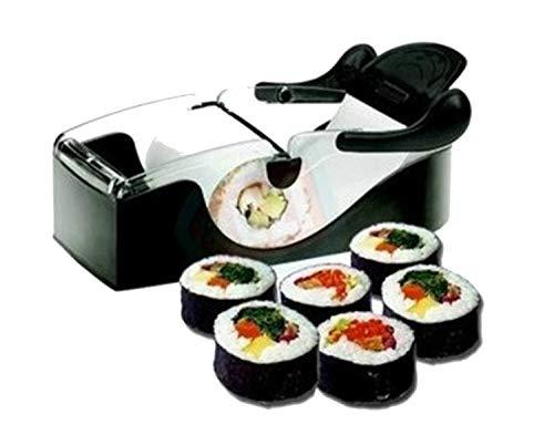 ► Garantía de calidad Sushi roll maker para hacer sushi maki máquina enrolla el arroz adecuado para profesionales o principiantes visto en tv ► 100 % 0. Una garantía de 30 días para una sustitución o un reembolso del 100 % gratis, si tienes pre...