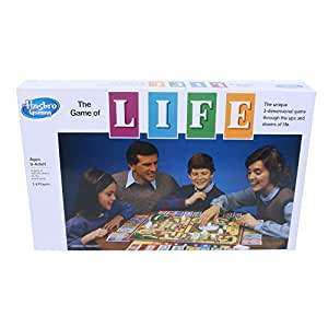 Hasbro Gaming The Game of Life Board Game for Families and Kids Ages 9 and Up, Game for 2-4 Players