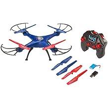 Revell Control RC Quadrocopter für Einsteiger, ferngesteuert mit 2,4 GHz Fernsteuerung, sehr einfach zu fliegen, Headless-Mode, äußerst robust, wechselbarer Akku, LED-Licht, Flip-Funktion - GO! 23877