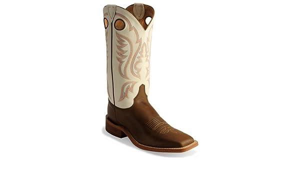 2dccca770 Men s Western Boots - Justin Bent Rail Cowboy Boots  Amazon.co.uk  Shoes    Bags