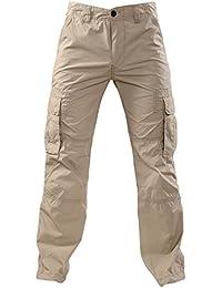 Mens Cargo Pants Life - beige by GEAR 100% coton par Gear