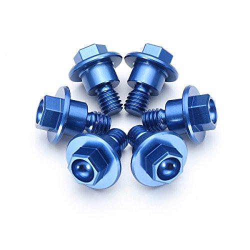 Alamor Aluminium Gabelschutz Bolzen Kit Für Ktm 65Sx 85Sx 2003-2015 Ktm125-530 2000-2016-Blau