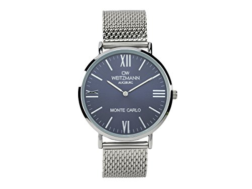 OW Weitz Monte Carlo Men's Watch with Blue Dial and Milanese Band