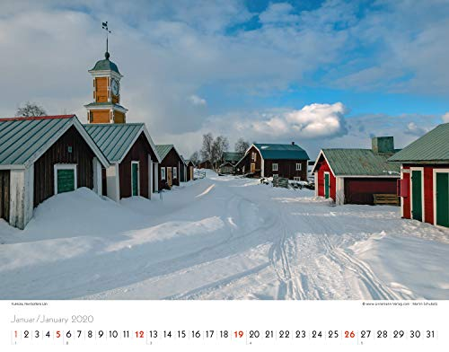Schweden 2020 Großformat-Kalender 58 x 45,5 cm: Sverige - Sweden   Wandkalender: Alle Infos bei Amazon