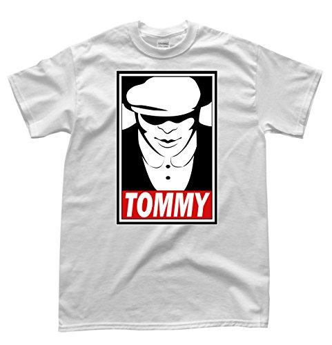 Obey Tommy Weiß T-Shirt, Größe 2XL
