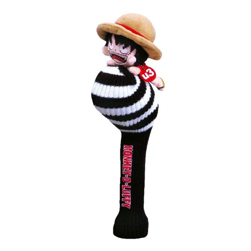 ONE PIECE LUFFY UTILITY HEADCOVER (GOLF JAPAN) 2013 model by Golf Japan