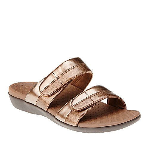b1efb415882f Orthaheel Vionic With Technology Womens Shore Orthatic Slide Bronze Size 11  UK Size   9