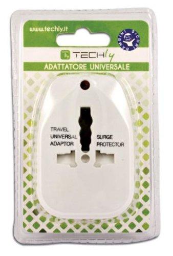 TECHLY IPW-ADAPTER5 - Adattatore universale da viaggio per prese elettriche