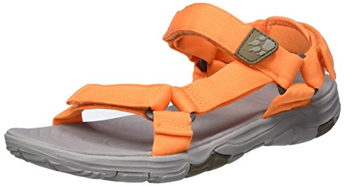 Wolfskin Jack Donna Seven Papaya 2 Sandlai Sportivi Seas Arancione W Sandal drOqrwB