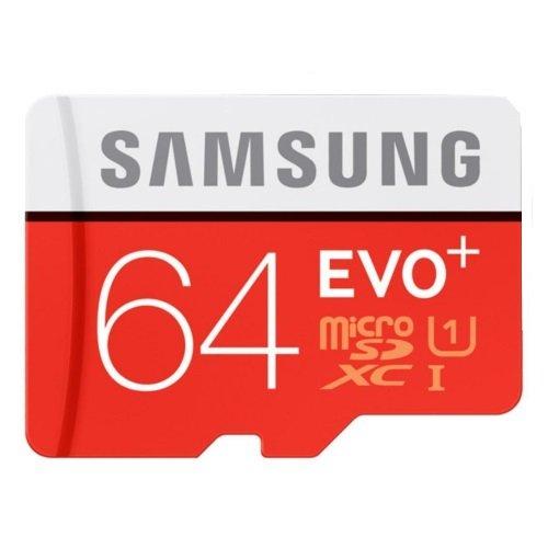 Samsung MB-MC64DA/AMZ - Tarjeta de memoria micro SD EVO+ de 64 GB con adaptador...
