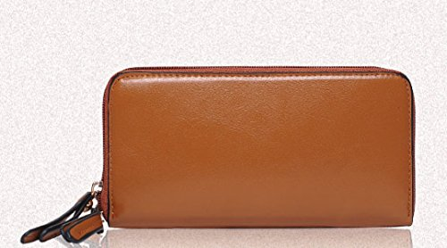 BHUE Womens Handtasche Mode Vier Tragbare Umhängetasche Party Retro Damen Mode Messenger Bag Damen Tasche Brown